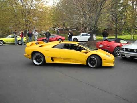 1999 Lamborghini Diablo Sv V12 Masterpiece Youtube