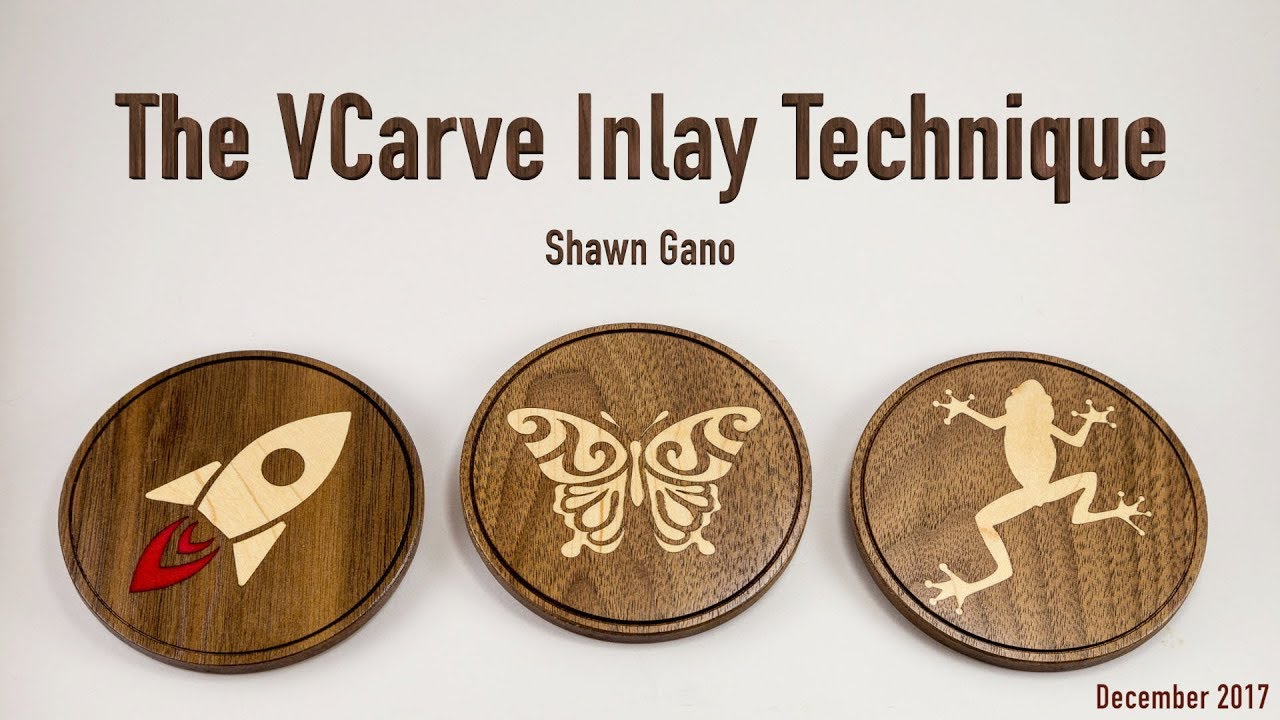 The VCarve Inlay Technique
