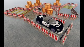 Modern Police Car Parking - Car Games ▶️Best Android Games GamePlay HD #1