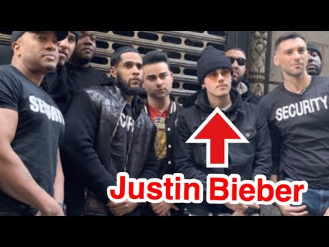 Justin Bieber Pranks Nightclub! (SECURITY)