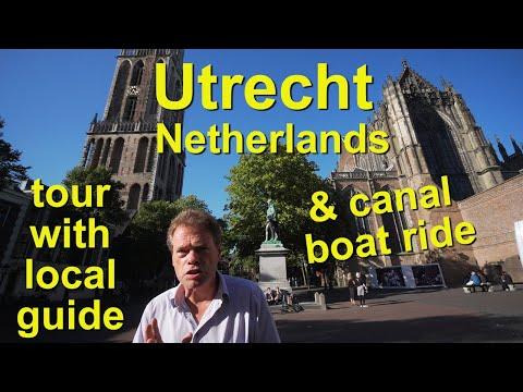 Utrecht, Netherlands walk with local guide