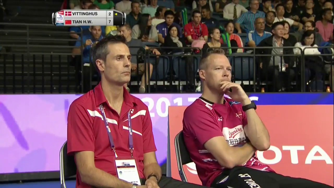 TOTAL BWF World Championships 2017 | Badminton Day 2 M7-MS ...