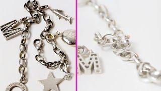 DIY Silberschmuck reinigen & zum glänzen bringen mit Alufolie Ich reinige mein Armband