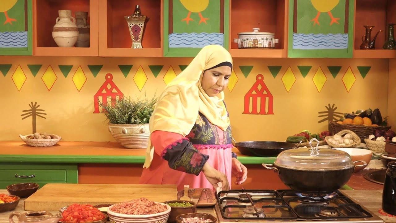 روايح من بلدنا - اطباق مائدة الرحمن + كفتة بالصلصة + ارز بالبطاطس + جلاش محشى كنافة+ سوبيا 1