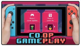 Lovers in a Dangerous Spacetime | Co-op Multiplayer Gameplay | Nintendo Switch