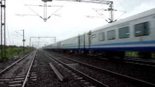 Indian Railways..Inaugural LHB run of 2009 BCT-ADI Shatabdi express