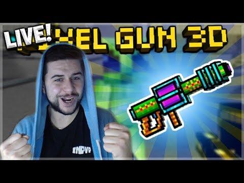 Pixel Gun 3D   LIVE NOW! USING LEGENDARY ADAMANT LASER CANNON!!!