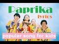 Foorin team E - Paprika (lyrics)