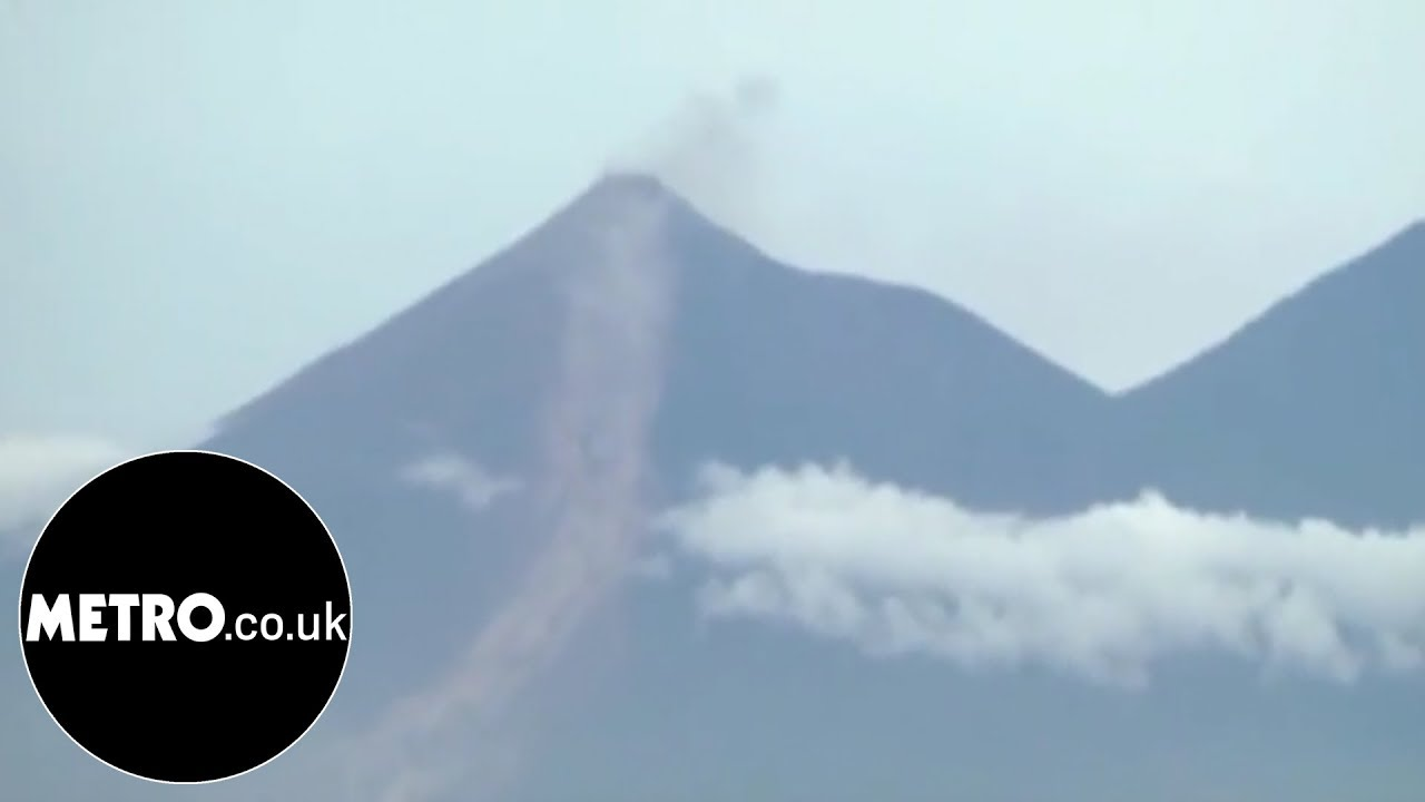 Aerials show extent of damage from Guatemala eruption | Metro.co.uk
