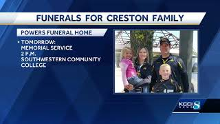 Gambar cover Community mourns the loss of Iowa family of 4