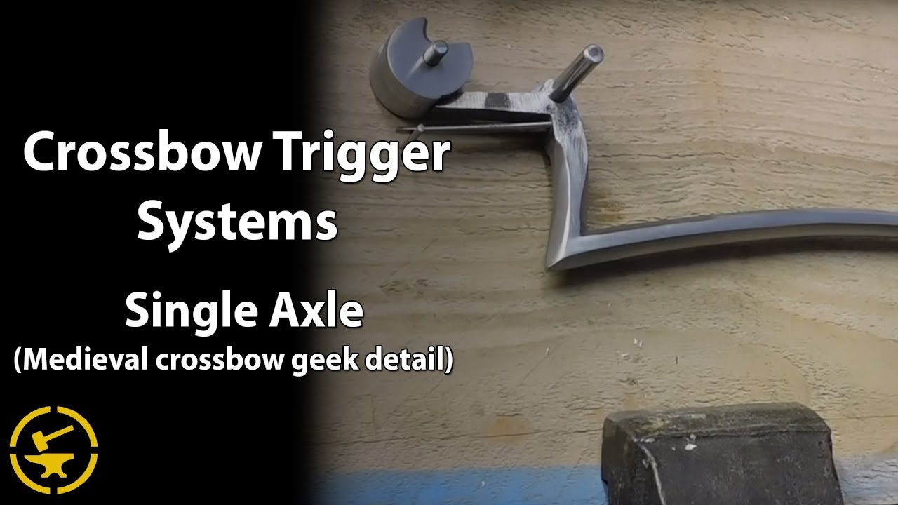 Single axle rolling nut trigger system - meval crossbow - YouTube on