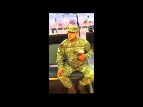 Fake US Army Ranger!