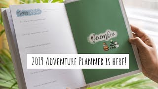 Planning for 2019 | My 2019 Planner is Here | 2019 Adventure Planner | Planning for 2019