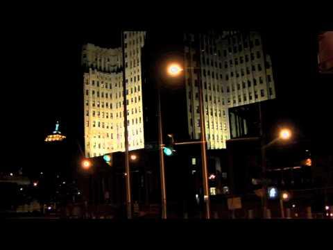 Buffalo, New York. Downtown Evening.