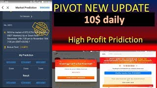 (PIVOT)new update in pivot high profit pridiction in 10$ daily income.(soccsar pridiction)