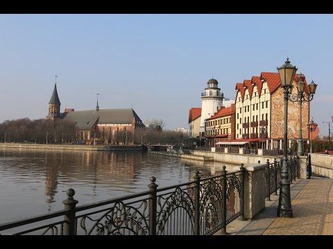 Калининград зимой (музей янтаря, Кафедральный Собор, Рыбная деревня)