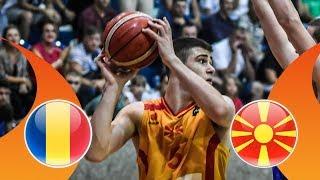 Romania v MKD - Quarter-Final - Full Game - FIBA U16 European Championship Division B 2018 thumbnail