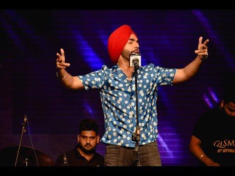 Ammy Virk Live Performance At Chandigarh University  2018.