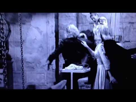 Young Frankenstein movie- Frau Blucher scene (1st voice over)