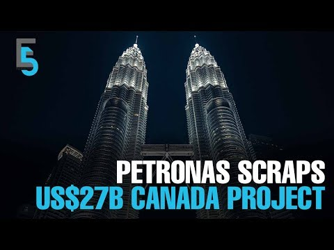 EVENING 5: Petronas aborts US$27 bil Canadian LNG project