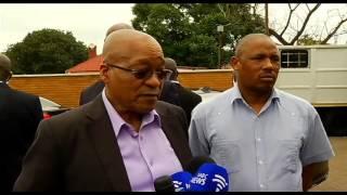 President Jacob Zuma visits Marabastad