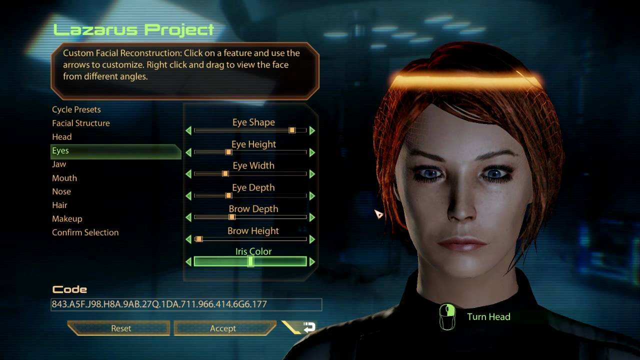 mass effect 2 hd gameplay character creation youtube
