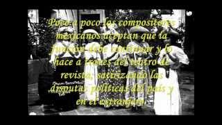 MUSICA DE LA REVOLUCIÓN Y LOS AÑOS 20