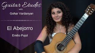 El Abejorro by Emilio Pujol | Guitar Etudes with Gohar Vardanyan