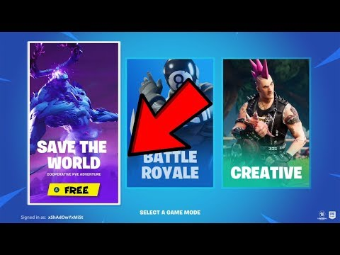 How To Get Fortnite Save The World Free! (XBOX,PS4,PC) *v11.01*