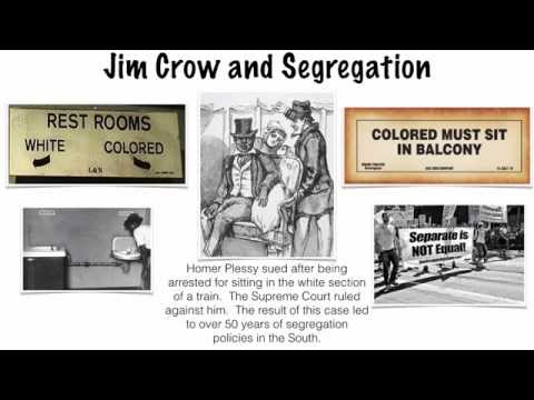 The Reconstruction Era - Part IV