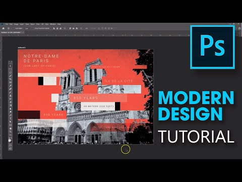 Modern design tutorial: Notre Dame tribute thumbnail