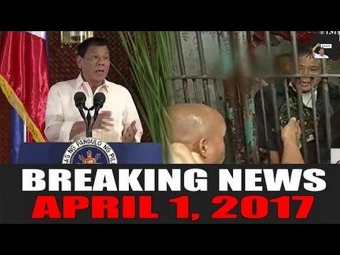 BREAKING NEWS TODAY! APRIL 1, 2017 | Duterte BINIRA ang mga Bias Media | Police  - Philippines News