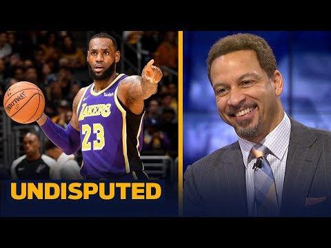 Chris Broussard calls LeBron's performance 'Michael Jordan-esque' against Spurs | NBA | UNDISPUTED