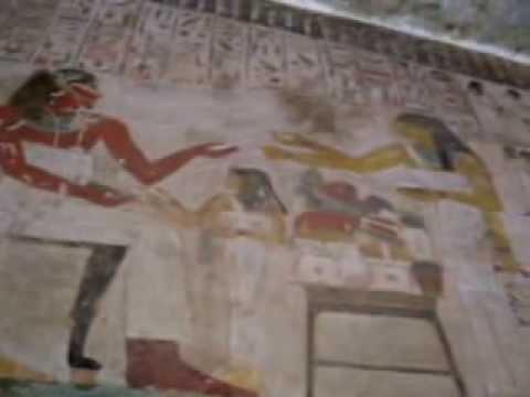 مقبرة الوزير رخميرع رقم 100     Tomb of Rekhmire (TT 100)