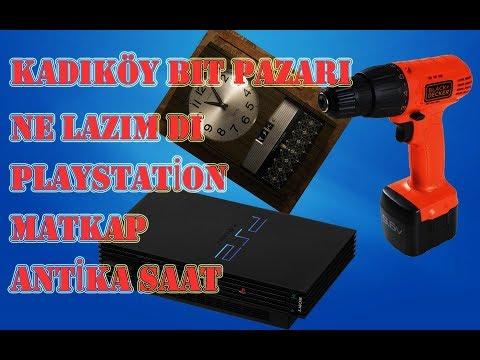 KADIKÖY BİT PAZARI  PS2  TELEFON  ANTİKA EŞYA NE LAZIMDI