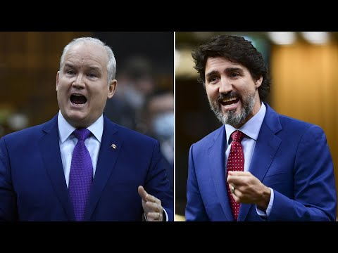 Justin Trudeau, Erin O'Toole square off over the surging cost of home ownership in Canada