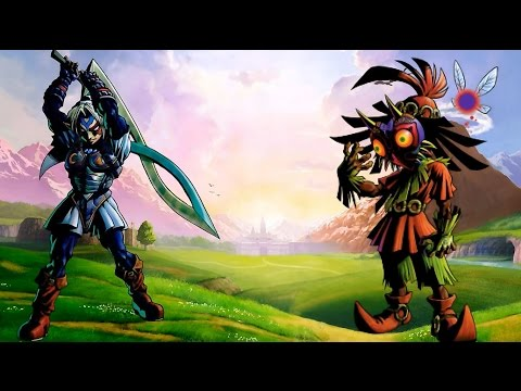 Zelda Theory: Origins of Majora's Mask and Fierce Deity's Mask?