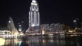 DUBAI FOUNTAIN 2015 HD - ELISSA - ALA BALLY HABIBI