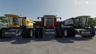 "[""FS19 AGCO Combine"", ""FS19 680B"", ""FS19 Massey Ferguson 9895"", ""FS19 Gleaner A85""]"