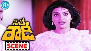 City Rowdy Movie Scenes - Madhavi Misunderstands Rajasekhar || M Karnan || Sankar Ganesh