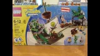 Lego Set 3817 Spongebob Squarepants The Flying Dutchman Box Opening!