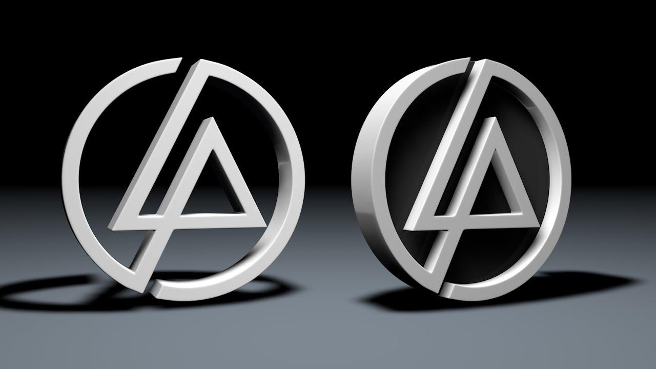 C4d Speed Art 3d Logo De Linkin Park