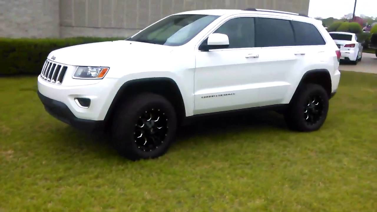 2014 Jeep Grand Cherokee With 2 5 Suspension Lift 4x4works Com