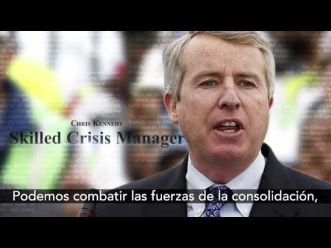 Chris Kennedy is running for governor (Spanish)