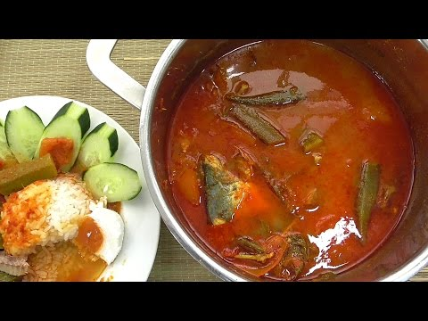 How to Cook Spicy Tamarind Fish (Asam Pedas) | MyKitchen101en