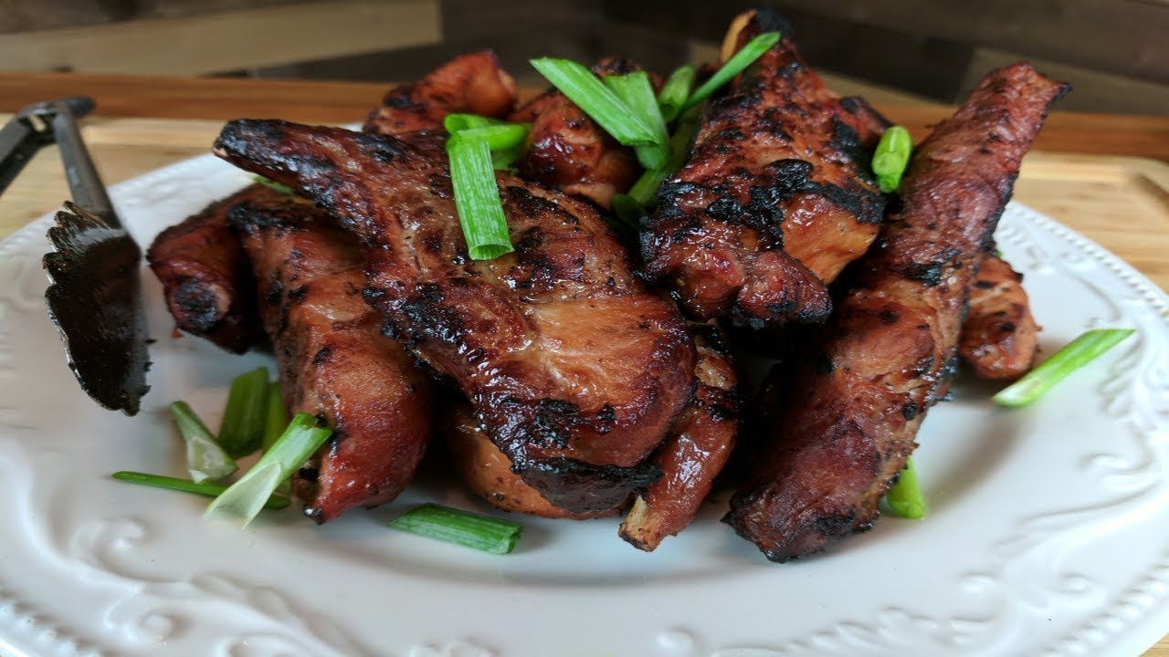 Baby Back Pork Ribs Filipino Style Recipe Filipino Baboy Youtube