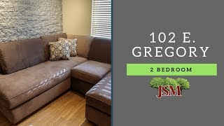 102 E. Gregory - 2 Bedroom - B Overview