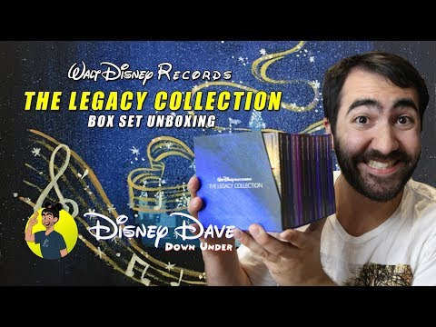 Walt Disney Records THE LEGACY COLLECTION Box Set Unboxing