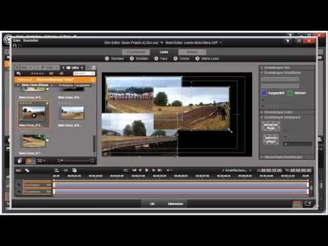 Elemente als Schaltflächen in Pinnacle Studio 16 und 17 Video 104 von 114