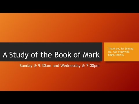 Why Study the Book of Mark? | Crossway Articles